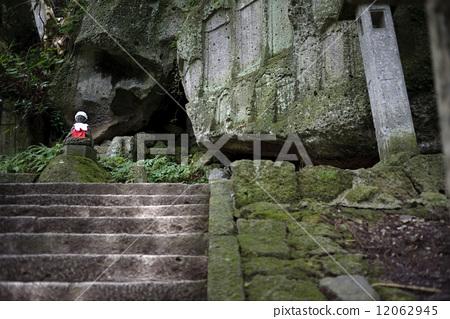 图库照片: 地面 山中寺庙 立石寺
