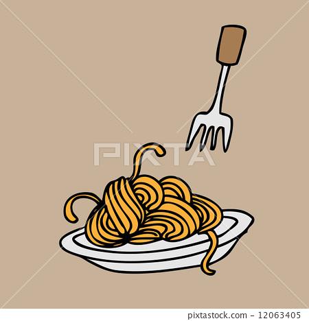 图库插图: spaghetti