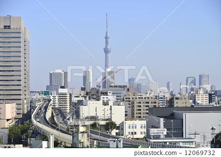 东京晴空塔 晴空塔 天线杆