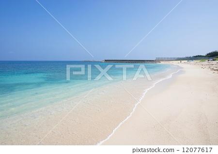图库照片: 白沙 海滩 沙滩