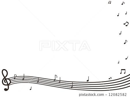 高音谱号 g调号 音乐