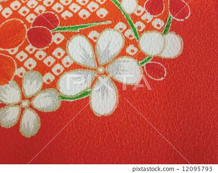 照片 健康_美容 疾病 花粉过敏 日式 和服纹样 花朵  *pixta限定素材