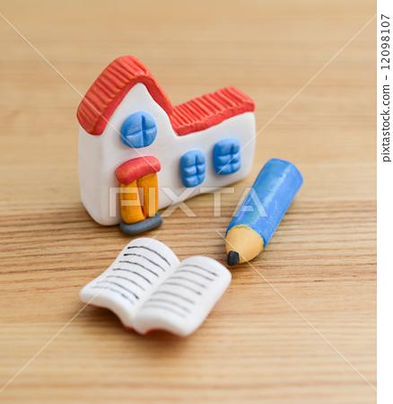 房屋 粘土工作 用粘土做东西