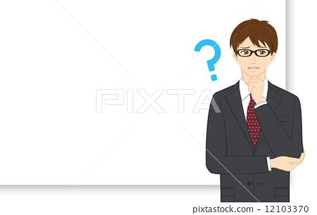 询问 首页 插图 人物 男女 日本人 疑问 问题 询问  *pixta限定素材仅