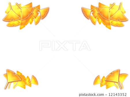 树叶 银杏叶 银杏树