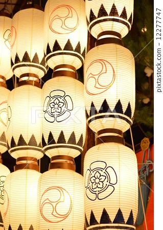照片素材(图片): 祗园祭 纸灯笼 军备