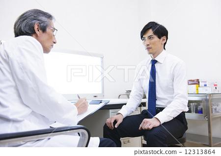 医生 医生 病人 医院  图库照片#12313864 授权信息此素材有模特摄影