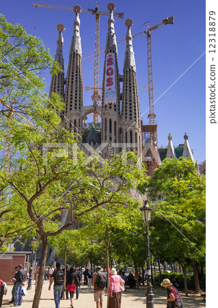 世界风景 西班牙 巴塞罗那 照片 安东尼·高迪 巴塞罗那 加泰罗尼亚