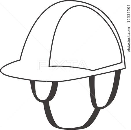 头盔简笔画步骤