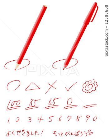 红铅笔 铅笔
