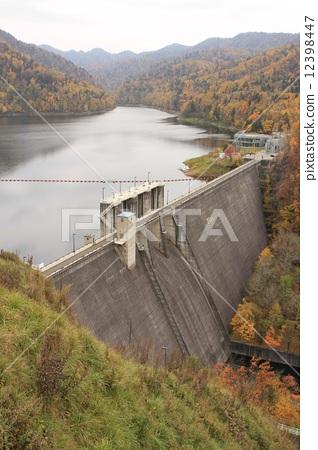 照片 风景_自然 河_池塘 水坝 金山坝 金矿 水坝  *pixta限定素材仅在