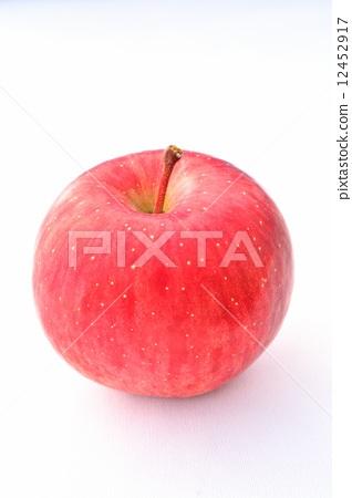 图库照片: 苹果 白底 甜点