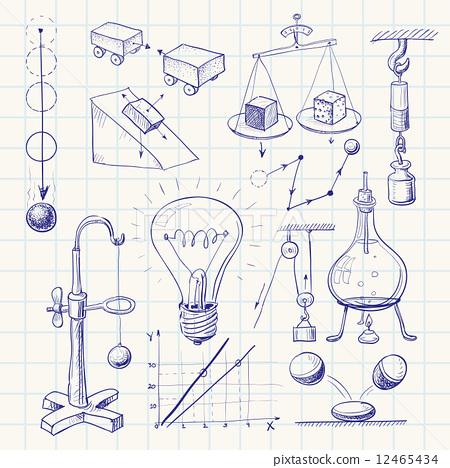 科学封面手绘图片大全