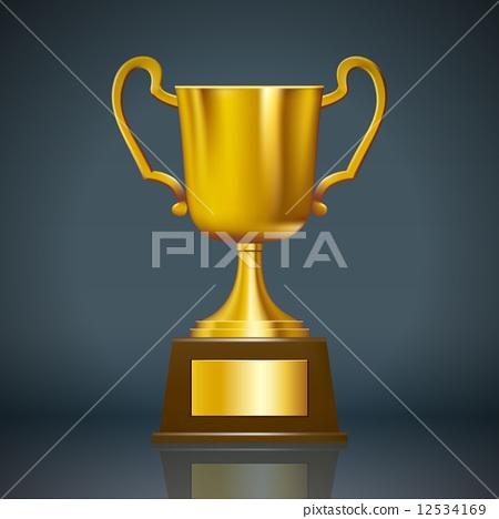 插图素材: 冠军奖杯 奖品 奖杯