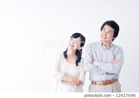 中老年人 中年 夫妇