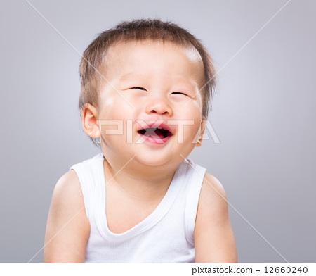 大笑 可爱 stock photos