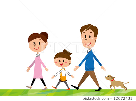 插图素材: 爸爸 家族 家庭