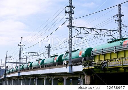 交通工具_交通 电车_铁道 火车 货运列车 火车 货运  *pixta限定素材
