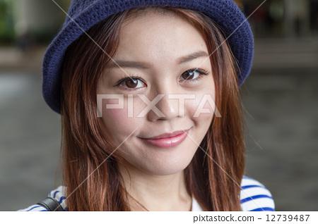 图库照片: cute chinese girl