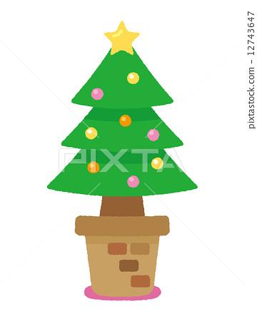 布兰妮圣诞树冰淇淋_乐乐简笔画