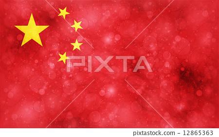 图库插图: 国旗 矢量图 旗帜