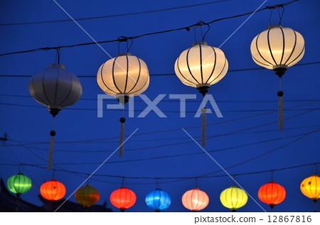 住宅_室内装饰 照明_灯 纸灯笼 会安 灯笼 纸灯笼  *pixta限定素材仅