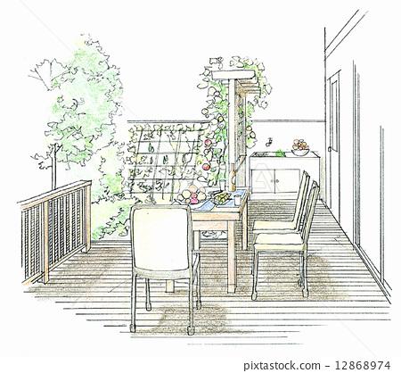 梦想的房子简笔画内容图片展示