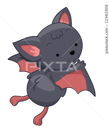 彩泥手工制作简单蝙蝠