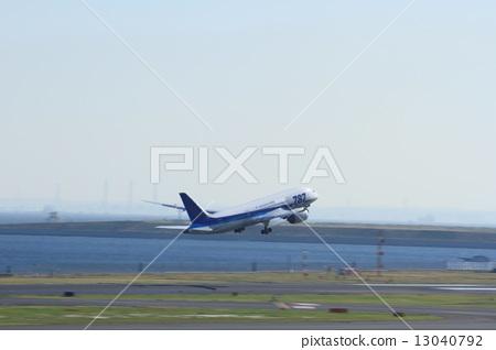飞机 客用飞机 商务飞机 民用飞机 喷气式飞机  *pixta限定素材仅在