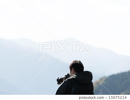 图库照片: 背影 摄影师 返回