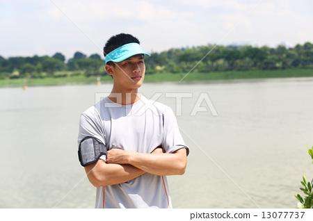 照片 工艺品 人物 亚洲 亚洲人 双手交叉  *pixta限定素材仅在pixta