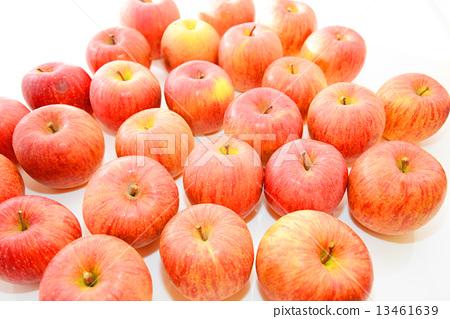 图库照片: 苹果 可爱 白底
