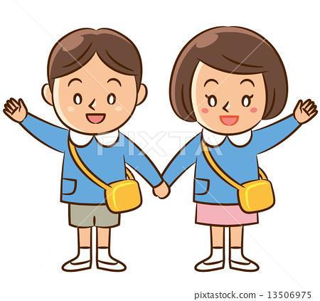 男女牵手囹�a_图库插图: 牵手 男人和女人 男女