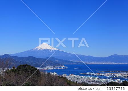 日本风景 山梨 富士山 照片 骏河湾 清水港 富士山 首页 照片 日本