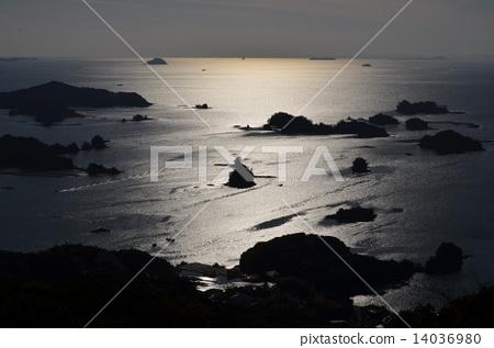 图库照片: 九十九岛 佐世保 观光平台