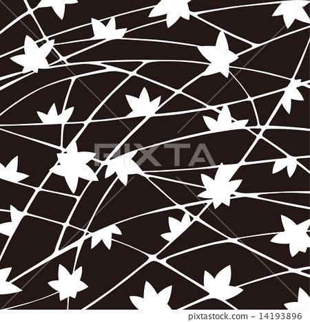 图库插图: 编织纹 日式 矢量