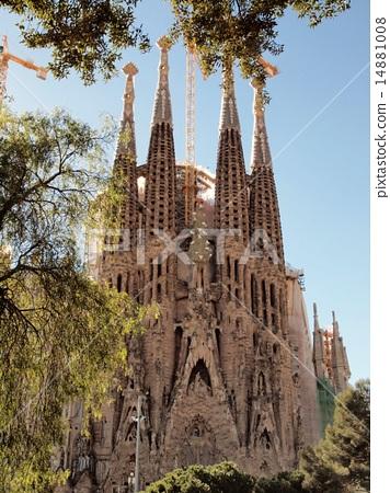 世界风景 西班牙 巴塞罗那 照片 圣家族教堂 巴塞罗那 西班牙 首页