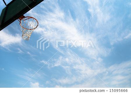 图库照片: 篮球目标