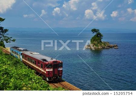 图库照片: 沿海岸 雨晴 赫德岛和麦克唐纳群岛线