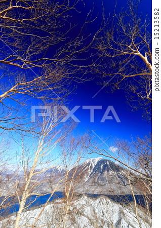 风景_自然 季节 冬 照片 男体山 冬天 冬 首页 照片 风景_自然 季节