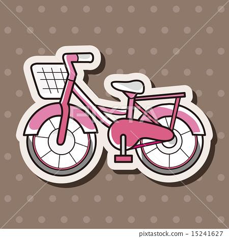 插图素材: 轮子 车轮 自行车