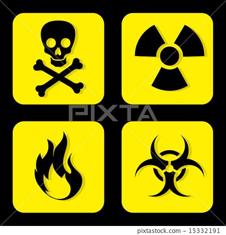 插图素材: danger design