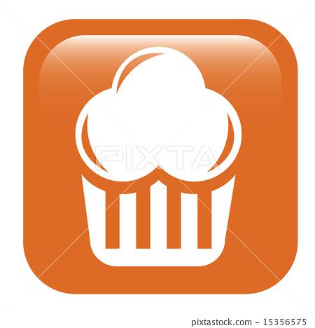 插图素材: bakery design over white background vector
