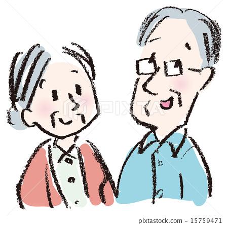 插图 祖母 祖父 老人 首页 插图 人物 男女 情侣/夫妻 祖母 祖父 老人图片