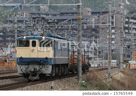图库照片: 东海道本线 围栏 轨道