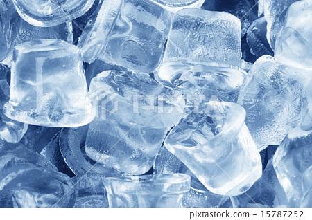 图库照片: ice cubes