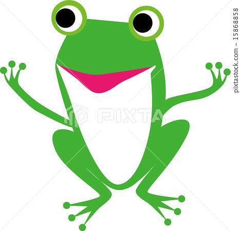 图库插图: 矢量图 青蛙 动物