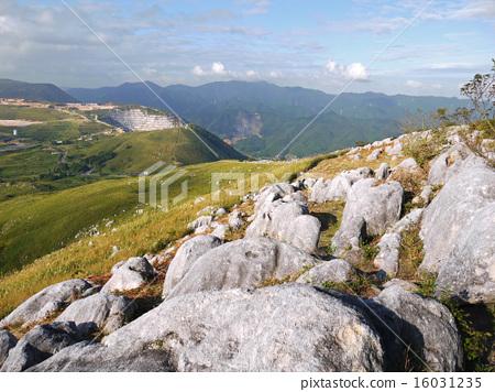 图库照片: 从登山福山县的susanama登山的风景