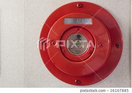 图库照片: 火灾报警器 警报 闹钟