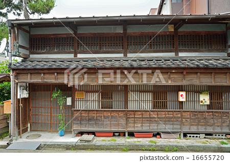 日本风景 石川 金泽 照片 石川 加贺百万石 格子湾的窗户 首页 照片